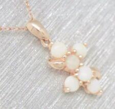 Markenlose Opal Echtschmuck-Halsketten & -Anhänger mit Cabochon-Schliffform