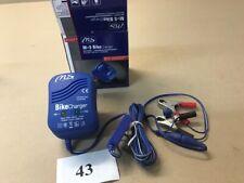 Batterieladegerät 12V 600 MA für Motorräder mit Abschaltautomatik von M+S