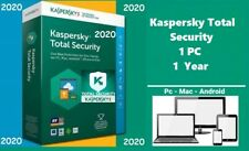 Kaspersky Total Security 1 Device | 2020  1 Year | Download | Code Key Only