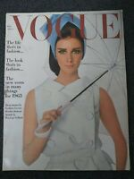 January 1963 VOGUE Magazine - Women's Fashion