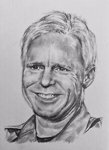 ACEO Sketch Card Stargate Sg1 Jack O'Neill Richard Dean Anderson