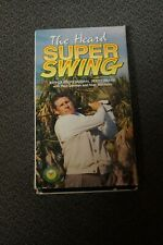 Golf Instruction. The Heard Super Swing Vhs instructional tape