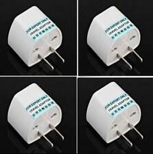 Tour EU UK AU to US USA AC 2+3 Pin Travel Power Plug Adapter Outlet Converter