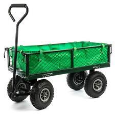 Carrello da trasporto 300 kg dispositivi carrello a mano carretto da giardino CARRIOLA Carretto