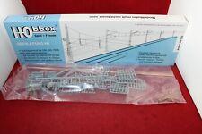 Hobbex OH 120 Spur H0 Oberleitung 10 x Drähte 25 x Y-Beiseile 5 x Zub./Neu/OVP
