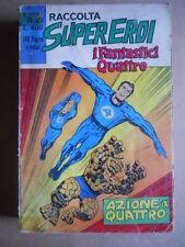 Raccolta SUPEREROI I FANTASTICI QUATTRO n°35 1975 edizioni Corno  [G369]