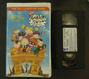 RUGRATS IN PARIS THE MOVIE ON VHS IN CLAMSHELL CASE *TCI#R