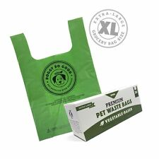 Biodegradable Poop Bags | Xl Cat Litter/X-Large Dog Waste Bags, Vegetable-Bas.