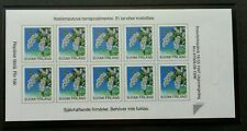 Finland Flower 1997 Flora Plant (booklet) MNH *self adhesive