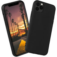 Silicone Case for Apple IPHONE 11 pro Max Protection Matte Very Thin Back Cover
