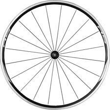 700c Shimano Rs010 Front QR Black Road Bike Clincher Rim Wheel