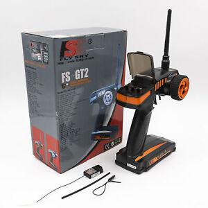 Flysky FS-GT2 2.4G Radio Model RC Transmitter & Receiver For RC Car RC Boat USA