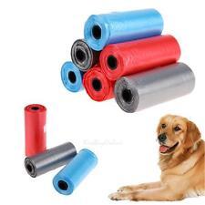 6pcs Pet Dog Puppy Cat Poo Poop Waste Disposable Clean Pick Up Plastic Bags