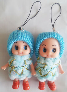 Korea Ddung Doll Cell Phone Backpack Keychain Gift Christmas Decoration Depant 2