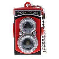 Miniature Red Vintage Camera Modello Giocattolo per 1/6 Scala Dollhouse
