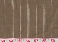 1.5 yd Stripe Upholstery Fabric by Ralph Lauren R$204y Mead Linen Stripe Fawn