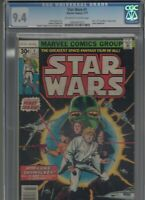 Star Wars #1 CGC 9.4 NM 1ST APP LUKE, LEIA, HAN SOLO, DARTH VADER! Huge Auction!