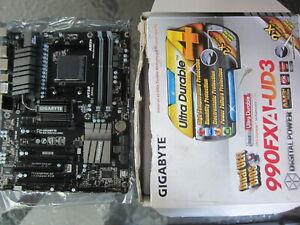 GIGABYTE GA-990FXA-UD3 Rev 4.0 Socket AM3+ AMD 990FX SB950 ATX Motherboard DDR3