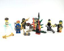 LEGO® Ninjago™ Posten 6 Figuren Nya Jay Scooter Saiffy Sawyer viel Zubehör NEU