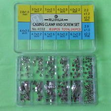 Watch Case Clamp Movement Adapter Securing Screws Washers For ETA 2836/2834/2846