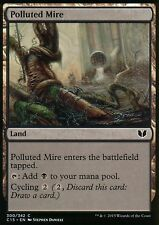 4x polluted mire | NM/M | Commander 2015 | Magic MTG