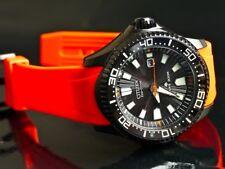 NEW Citizen Men's BN0088 03E Eco Drive Promaster Diver Watch WR300 ORANGE BAND