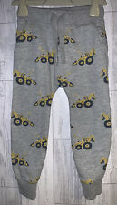 Boys Age 3-4 Years - Next Jogging Bottoms - Digger Patterned