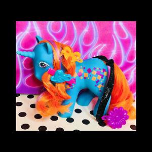 ❤️My Little Pony MLP G1 Vtg 1980's Rockin' Beat TUNEFUL Blue Neon Orange READ❤️