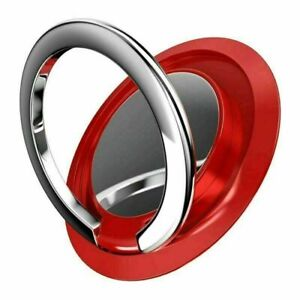 360° Rotating Finger Ring Holder Stand Grip For Cell Phone Magnetic Car Mount
