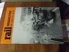 8µ? Revue Rail Magazine n°14 232 P1  141 TC Nord BB Corail Metro de Lyon