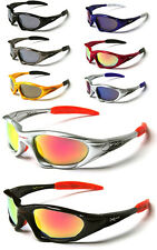 Xloop Light Weight Wrap Around Sports Sunglasses Full UV400 10 Colors inc. KIT