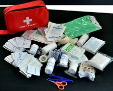 180pcs/pack Travel First Aid Kit Box Case supplies essentials Waterproof