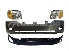 02-09 GMC ENVOY FRONT BUMPER REINFORCE HEADLIGHT 4 PCS