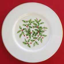 "Lenox China Holiday (Dimension / Presidential) 8 3/8"" SALAD / SIDE PLATE - MINT!"