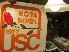 1977 Usc Rose Bowl vintage 70s iron on t shirt transfer full size Nos