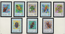 Vietnam N°365/372 Insect 1982, Vietnam #1221-1228 Insects MNH