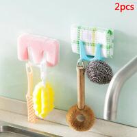 Wall Housekeeper Plastic Kitchen Pot Pan Cover Tool Bracket Storage Rack Hangtb