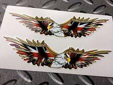 Alza Golden Eagle Union Jack Coche calcomanías decorativas casco de motocicleta 2 115mm Off