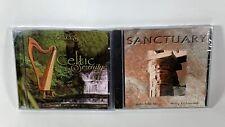 NEW Solitudes: Celtic Serenity & Sanctuary: Mary Kahmann Solo Folk Harp (2 CDs)