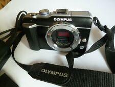 Olympus pen e-pl1 cámara de sistema 12,3 MP (Body) negro