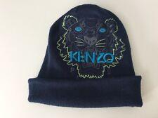 Kenzo Benny Sombrero, Talla 5 años, 53 Cm, Azul, Cara De Tigre, en muy buena condición