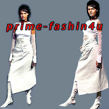 John Galliano Christian Dior Stretch Cotton Draped Back High Waist Corset Skirt