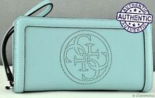 GUESS Faux Leather Zip-Around Women's Purses & Wallets