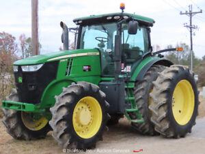 2013 John Deere 7260R 286 HP Diesel Tractor Utility Ag Farm PTO bidadoo