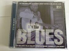 Various : Its the Blues 2 CD  MUDDY WATERS JOHN HOOKER JOE WILLIAMS ETC - MINT