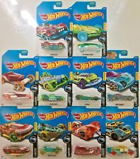 Hot Wheels 2017 X-Raycers #DTY06 1:64 Scale Diecast (Complete 10 car set)