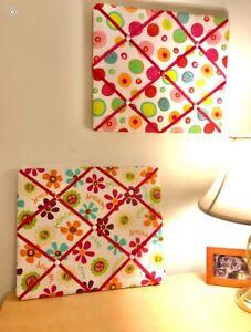 Fabric Bulletin Memo Boards Bundle