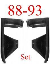 88 93 Bumper Filler Extension Set, Chevy & GMC, L&R Pair, GM1089118, GM1089119