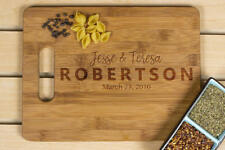 Wedding gift for couple, Kitchen decor,Personalized Cutting Board, Wedding Gift