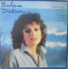 BARBARA DICKSON - All For A Song ~ VINYL LP